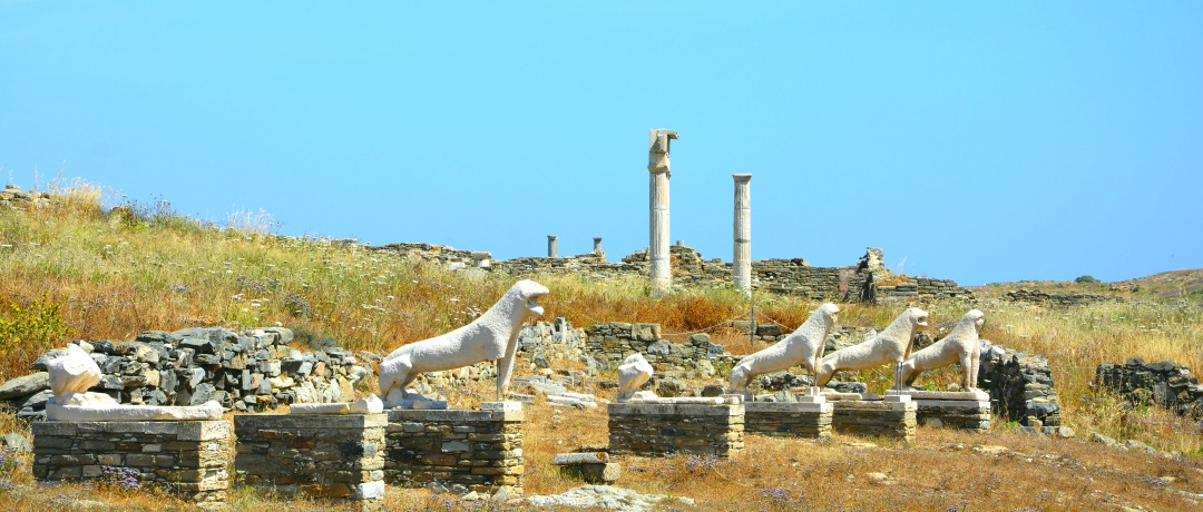 Ilhas Gregas - Delos - Capa